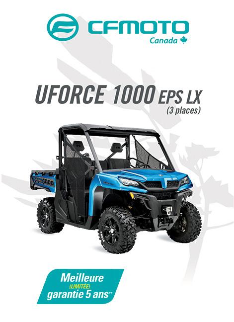 CFMOTO UFORCE 1000 2020