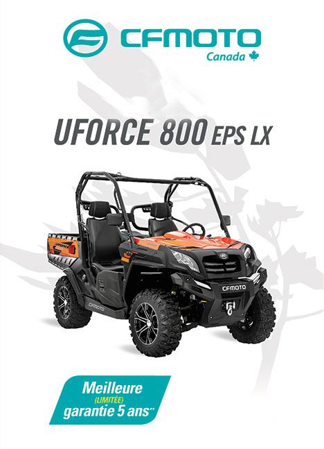 CFMOTO UFORCE 800 2020