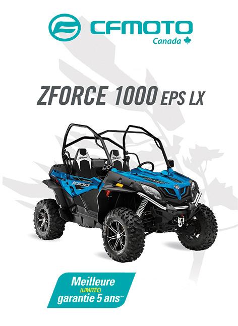 CFMOTO ZFORCE 1000 2020