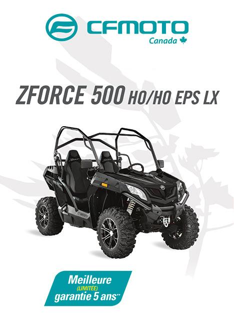 CFMOTO ZFORCE 500 2020