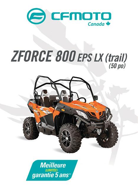 CFMOTO ZFORCE 800 2020